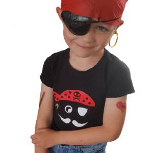 FlexMade shirt Piraat kinderkleding