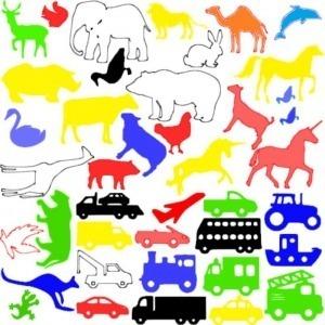 Raamfolie voor in de auto FlexMade Dieren en Auto_s