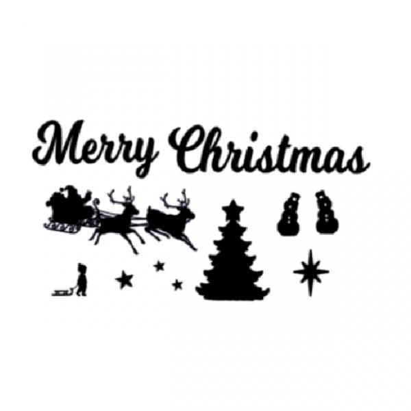 Uitbreidingsset Kerst FlexMade raamfolie