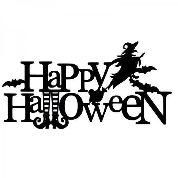 Happy Halloween FlexMade Raamfolie raamdecoratie