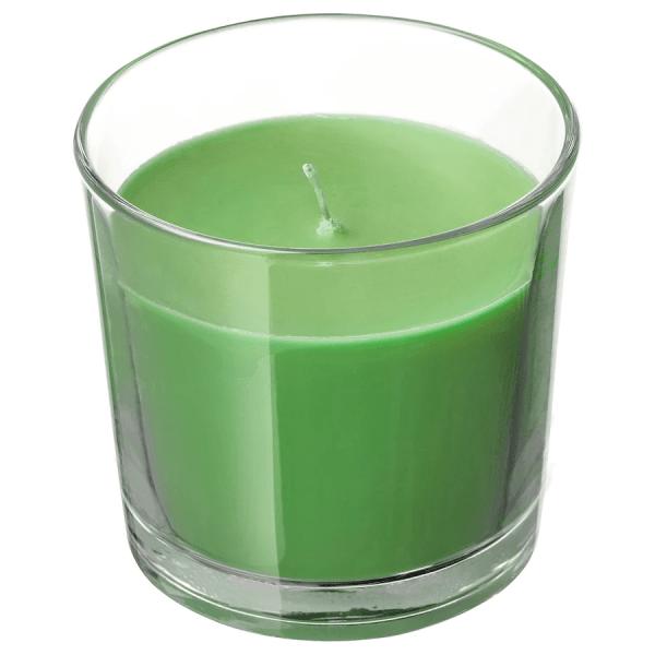Happy-Halloween-geurkaars-appel-en-peer-groen